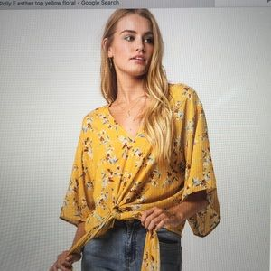 Pilly Esther Flowy blouse